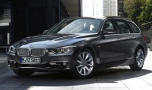 BMW 3 Series Touring motability car front