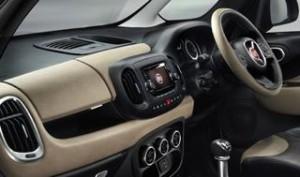 Fiat 500L MPW Motability Car dash