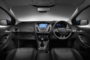 Ford Focus Motability car interior