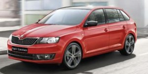Skoda Rapid Spaceback Motability car side