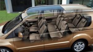 Ford Grand Tourneo motability car cut away
