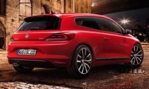 Volkswagen Scirocco motability car rear