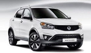 SsangYong Korando from  £299 Advance Payment