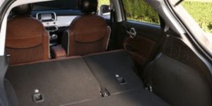 Fiat 500X Motability car boot