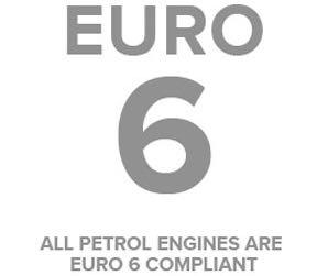 Euro 6 logo Motability Car petrol