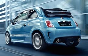 Fiat Abarth 500 cc Motability car