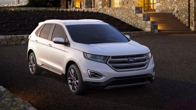 Ford Edge Motability Car