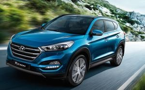 Hyundai Tucson motability car side
