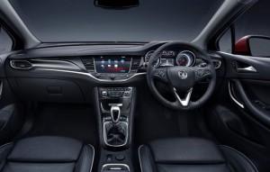 Vauxhall Astra Motability car dash