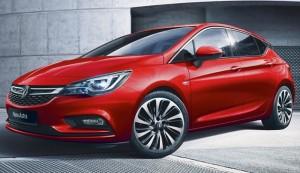 Vauxhall Astra Motability car front