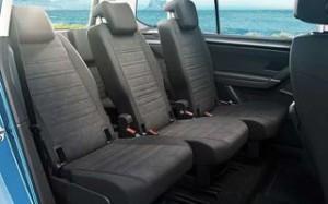 Volkswagen touran Motability car rear seats