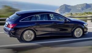 Mercedes CLA Shooting Brake Motability Car