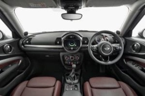 Mini Clubman Motability car interior