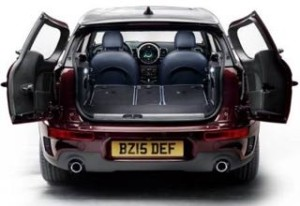 Mini Clubman Motability car rear