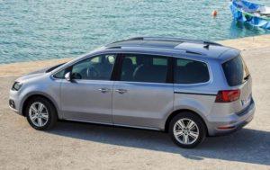 Seat Alhambra motability car SE Lux