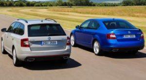 Skoda Octavia vRS Motability car
