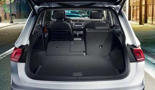 Volkswagen tiguan Motability car boot